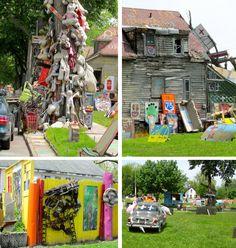 Detroit Heidelberg Project: Empowering Communities through Recycled Art