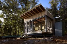 Cape Russell Retreat - modern - garage and shed - other metro - by Sanders Pace Architecture