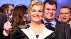 President Grabar-Kitarovic, first female president of Croatia.