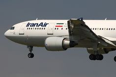 Iran Air Airbus A300B4-605R EP-IBD (17792) by Thomas Becker, via Flickr Olympic Airlines, Iran Air, Commercial Aircraft, Airports, Airplanes, Air Force, Aviation, Exterior, Planes