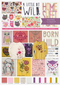 Wild Folk Trend | Emily Kiddy | Spring/Summer 2016 | Younger & Older Girls Fashion