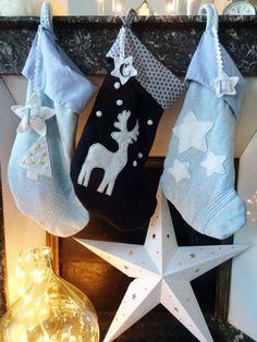 Coudre des chaussettes de Noël - Curieusement Bien