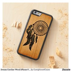 #DreamCatcher Wood iPhone 6 Case - a special #gift #forher Are you looking for Spirituality & Inspirational #Wooden #iPhone6Case for #iPhone6, #iPhone6Plus, where you can find a variety of Spirituality & Inspirational Wooden iPhone 6 Case designs for all generations ready to be #personalized or purchased as is. Click here https://www.zazzle.com/collections/gifts_for_her-119606148484771937 to see more products,  If you don't absolutely love it, we'll take it back! We want to make #samsung…