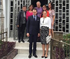 Prince Daniel and Crown Princess Victoria Visit Colombia - 3rd Day