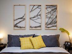 Inspiracje w moim mieszkaniu {Inspiration in my apartment}: DIY ozdobne gałęzie drzewa/ DIY Decorative Tree Branches