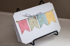 Vintage Baby Shower Greeting Card Gender Neutral by Little1Paperie, $4.50 on Etsy