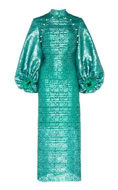 Simple Dresses, Beautiful Dresses, Turquoise Clothes, Embroidery Fashion, Draped Dress, Green Dress, Fashion Dresses, Midi Dresses, Women's Fashion