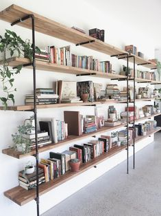 handmade wooden bookshelves | oh, albatross