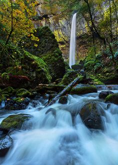 Elowah Falls | by Rob Kroenert
