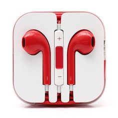 Earphones Headphones Earbuds Handsfree with Mic For Apple iPhone Samsung Sony Iphone 7, Apple Iphone 6, Headphone Splitter, Headphone Holder, Headphone With Mic, Ipad, Android, Sony, Iphone Parts