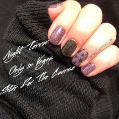 Nail Polish Combinations, Nail Color Combos, Fall Nail Colors, Halloween Nail Colors, Halloween Nails, Nails & Co, Manicure And Pedicure, Hair And Nails, Cute Nails