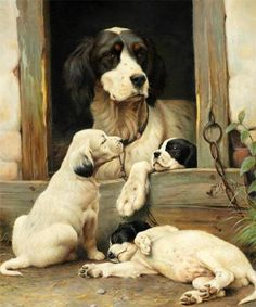 Art by Olaf August Hermansen Asian Dogs, Dog Breeds Little, Psy Art, Dog Portraits, Dog Accessories, Animal Paintings, Dog Toys, Dog Pictures, Dogs And Puppies