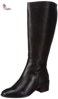 Edina, Bottes Classiques Femme - Noir - Schwarz (Black-Combi 00013), 41Marc