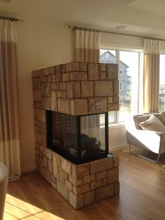Montigo H38PFNI Peninsula Fireplace | 119 Lake Bend | Pinterest
