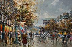Antoine Blanchard, Rue De La Madeleine