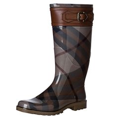 Burberry buckle detail rain boot