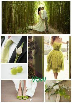 VOW: #8 Tender Shoots, Spring Green Wedding