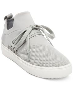 6ac508b3e64 Steve Madden Women s Lancer Athletic Sneakers - Gray 9.5M Sneakers Fashion  Outfits