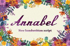 Annabel Script Typeface from FontBundles.net