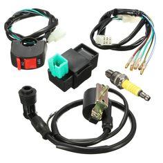 0abada91d585201d860516f6fc4f86cc wiring harness loom solenoid coil rectifier cdi 50cc 70cc 110cc  at webbmarketing.co