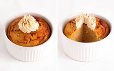 "This Pumpkin Pie Keto Mug Cake tastes incredibly similar to ""real"" pumpkin pie! Super satisfying and comforting - the perfect keto snack! Desserts Keto, Keto Dessert Easy, Keto Snacks, Easy Desserts, Dessert Recipes, Dessert Ideas, Mug Recipes, Pumpkin Recipes, Keto Recipes"