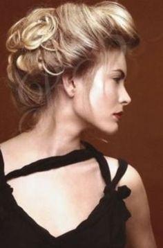 La Belle Epoque  hair: elaborate updo
