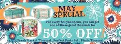 Thirty One May 2014 Monthly Specials  https://www.mythirtyone.com/Alyssa-Vidrine