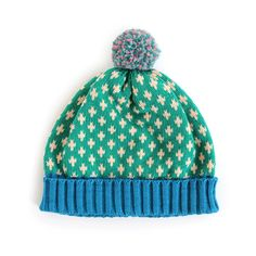 Fleur Hat Green by Annie Larson