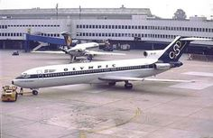 Olympic airways Greece Olympic Airlines, Boeing 727, Commercial Aircraft, Jet Plane, Airports, Flight Attendant, Historical Photos, Jets, Airplanes