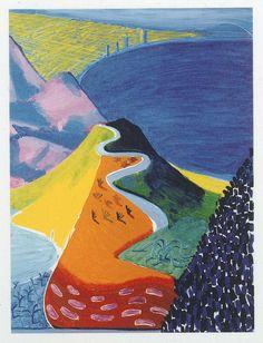 Malibu, David Hockney