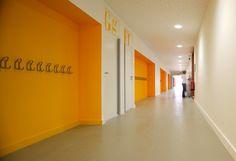 Image result for classroom corridor architecture