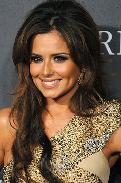 Cheryl Cole hairstyles 2013 2014 for long hair need thick and voluminous hair