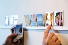 From our friends at @Photojojo: Make a DIY Photo Ledge — Dress Up Lonely, Blank Walls!