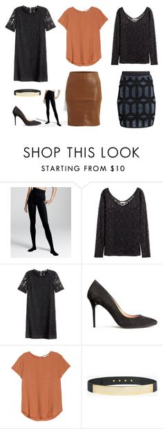 """""""Capsuel for going out"""" by lone-haure-norrevang on Polyvore featuring H&M, VILA and Halston Heritage"""