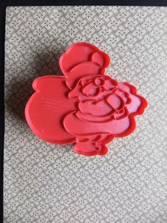 1978 Wilton Christmas Santa Claus Cookie Cutter by michiegoodsny