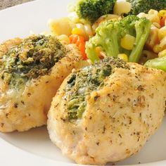 Stuffed Chicken Breasts With Spinach Recipe