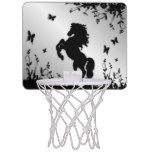 Shop Rearing Black Stallion / Horse on Silver Mini Basketball Hoop created by kahmier. Basketball Backboard, Mini Basketball Hoop, Black Stallion Horse, Horses, Silver, Money, Horse
