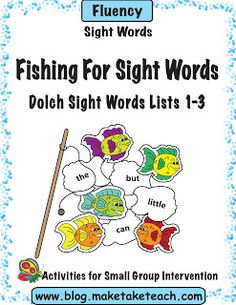 Classroom Freebies: Fishing For Sight Words Game