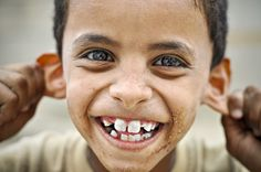 Boy from Yemen - by Anthony Asael (1974), Belgian