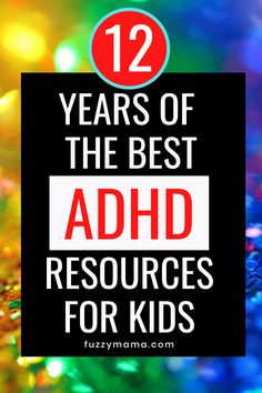 ADHD Resources | This list of the best resources that have helped our family with two kids with ADHD has been 12 years in the making. I've included what works for ADHD so that you can save time and find something that works for you. I know ADHD Parenting is not about buying stuff, but when you find something that works you want to shout it from the rooftops!! How To Sleep Faster, How To Get Sleep, Adhd Strategies, List Of Resources, Adhd Symptoms, Vegan Cheesecake, Good Student, Adhd Kids