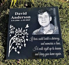 Precious Tips for Outdoor Gardens - Modern Custom Engraving, Laser Engraving, Memorial Garden Stones, First Fathers Day, Graphic Quotes, Special Quotes, Growing Tree, My Flower, Outdoor Gardens