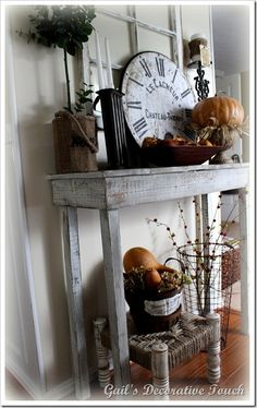 Gail's Decorative Touch: Home Sweet Home an Autumn Welcome