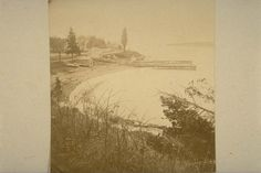 Shore below Bay Ridge, 1877, v1972.1.1; Early Brooklyn and Long Island photograph collection, ARC.201; Brooklyn Historical Society.