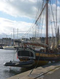 Quai Duguay Trouin. St Malo. Bretagne.