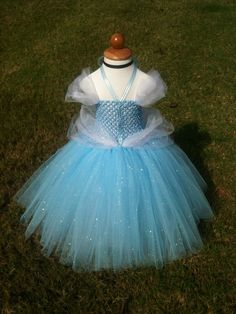Good idea for how to make a princess dress (or three) for Halloween.