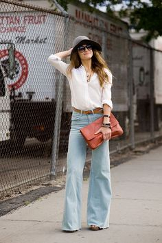 can't wait for spring New York Street Style, Spring Street Style, Spring Summer Fashion, Street Chic, Summer Chic, Summer Fall, Casual Summer, 70s Fashion, Fashion News