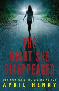 "If you are looking for you next read that is filled with suspense and drama look no further. ""The Night She Disappeared"" by April Henry  will keep you on the edge of your seat until the very end! Enjoy."