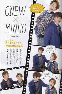 SHINee Onew and Minho Seek Magazine Vol. 4 2014