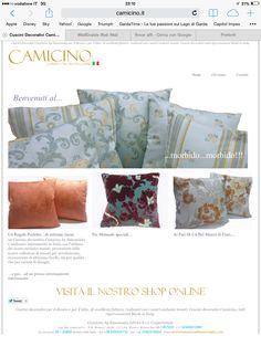 Camicino pillows by Simonsaita Luxury italian pillows