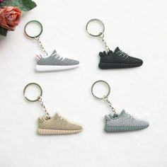 Handcrafted Adidas Yeezy Boost 350 Key Chain